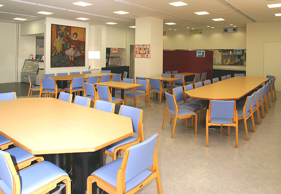 Large fclty cafeteria l