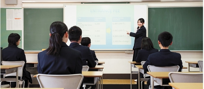 宝仙学園高等学校 共学部 理数インター